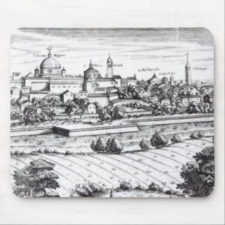 A Section of a Map of Milan, 1640 Mouse Mat