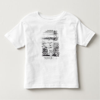A Section of a Map of Milan, 1640 Toddler T-Shirt