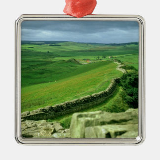 A section of Hadrian's Wall, 2nd century AD (stone Christmas Ornament
