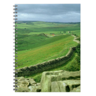 A section of Hadrian's Wall, 2nd century AD (stone Spiral Notebook