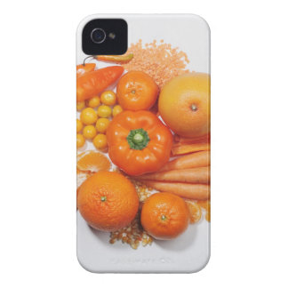 A selection of orange fruits & vegetables. Case-Mate iPhone 4 case