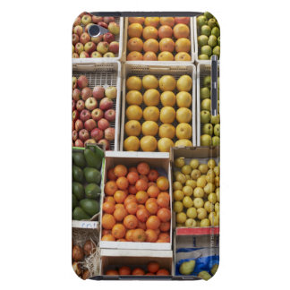 A selection of organic boxed fruit on barely there iPod case