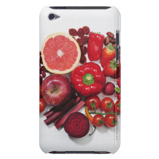 A selection of red fruits & vegetables. iPod Case-Mate cases