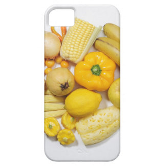 A selection of yellow fruits & vegetables. barely there iPhone 5 case