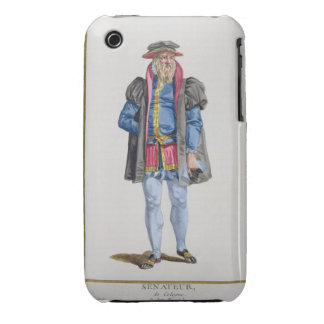 A Senator of Koln from 'Receuil des Estampes, Repr iPhone 3 Case-Mate Case