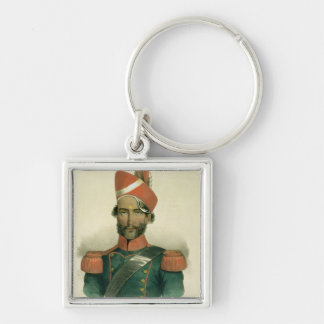 A Sepoy: an Indian Soldier in the French Battalion Keychains