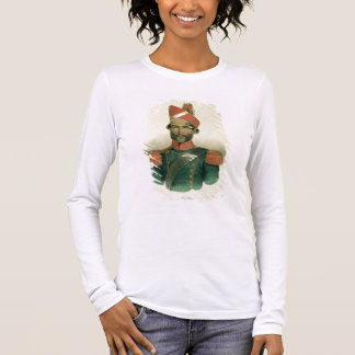 A Sepoy: an Indian Soldier in the French Battalion Long Sleeve T-Shirt