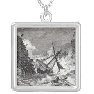 A September Storm Silver Plated Necklace
