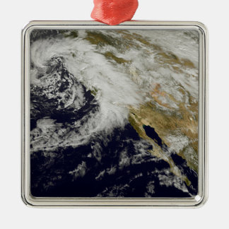 A series of strong storms with fierce winds 2 christmas ornament
