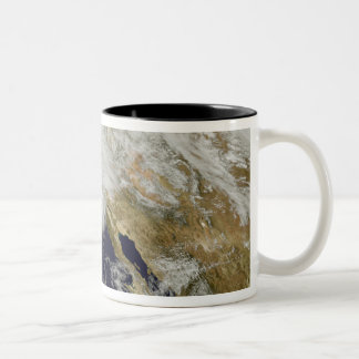 A series of strong storms with fierce winds 2 Two-Tone coffee mug