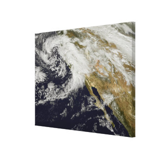 A series of strong storms with fierce winds canvas print
