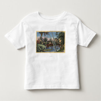 A Shady Retreat in Echo Park Tee Shirts