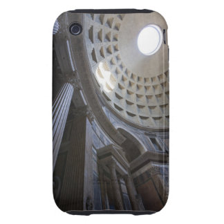 A shaft of light through the oculus in the tough iPhone 3 case