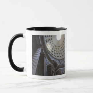 A shaft of light through the oculus in the mug