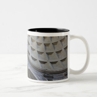 A shaft of light through the oculus in the Two-Tone mug