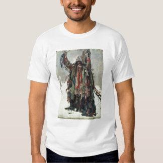 A Shaman sketch for Yermak Tshirts
