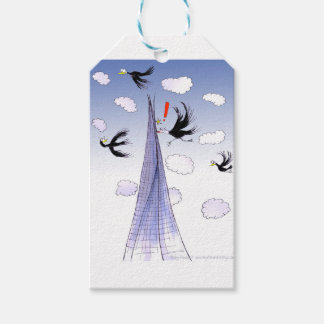 A ShardArt Ouch by Tony Fernandes Gift Tags