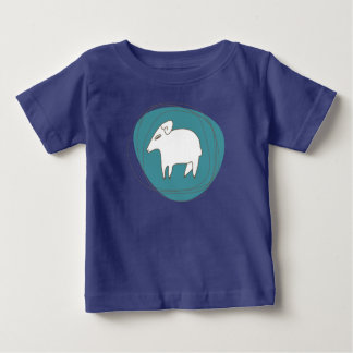 A sheep in ovals baby T-Shirt