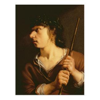 A Shepherd, 1635 Postcard