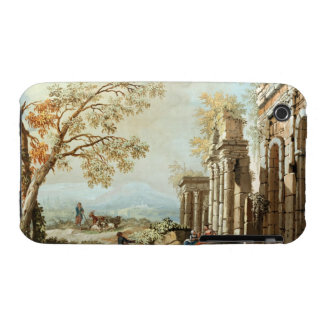 A Shepherd with Goats and other Figures amongst Cl iPhone 3 Case