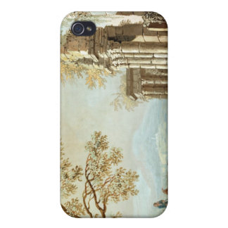 A Shepherd with Goats and other Figures amongst Cl Case For The iPhone 4