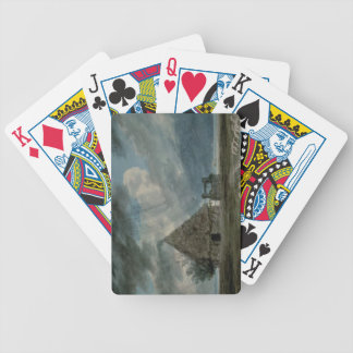 A Shepherd's Hut between Naples and Portici (w/c) Bicycle Playing Cards