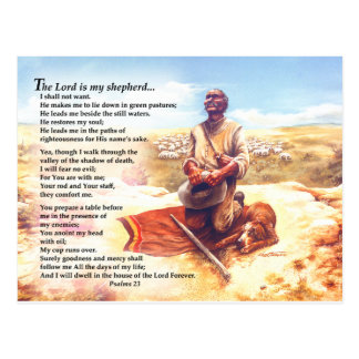 A Shepherd's Prayer Postcard