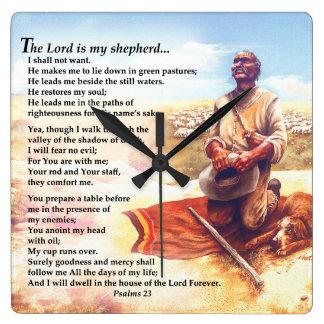 A Shepherds Prayer Square Wallclocks