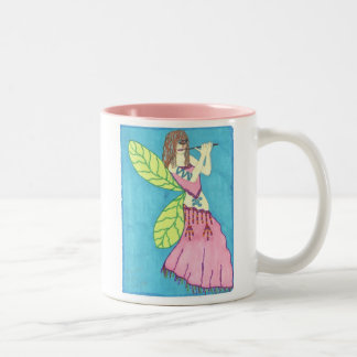 A Shide Welcoming in Spring Two-Tone Mug