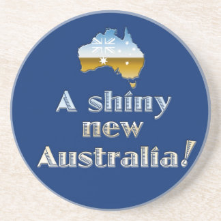 A Shiny New Australia Coaster
