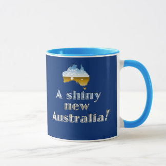 A Shiny New Australia Mug