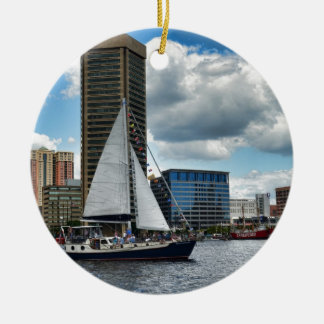 A Ship in Baltimore Christmas Ornament