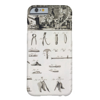 A shoe and bootmaker and their tools, from the 'En Barely There iPhone 6 Case