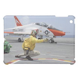 A shooter aboard the aircraft carrier iPad mini cover