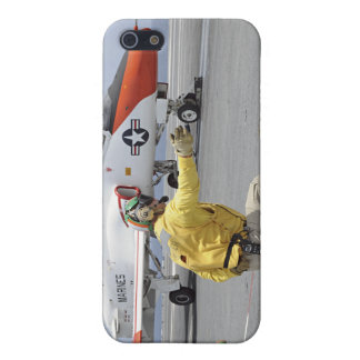 A shooter aboard the aircraft carrier iPhone 5/5S cases