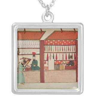 A Shop Selling Different Merchandise Silver Plated Necklace
