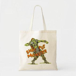 a shot put monster canvas bags