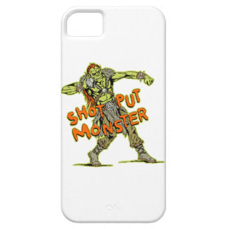 a shot put monster iPhone 5 cover