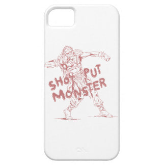 a shot put monster iPhone 5 case
