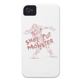 a shot put monster iPhone 4 covers