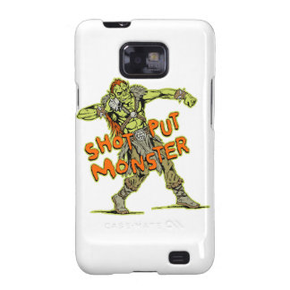 a shot put monster samsung galaxy SII covers
