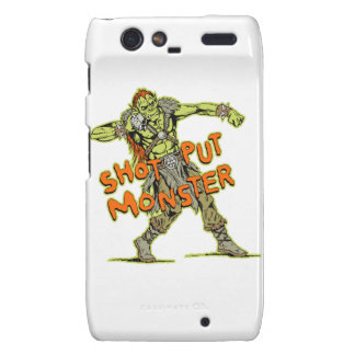 a shot put monster droid RAZR cover