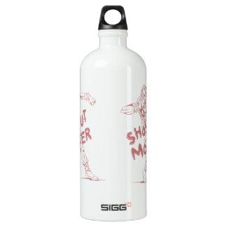a shot put monster SIGG traveler 1.0L water bottle