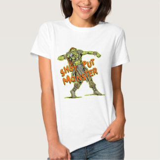 a shot put monster tshirts