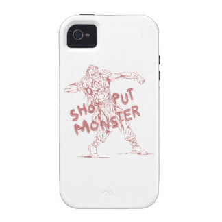 a shot put monster vibe iPhone 4 case