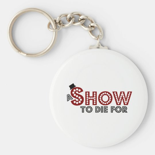 A Show To Die For logo keyring Basic