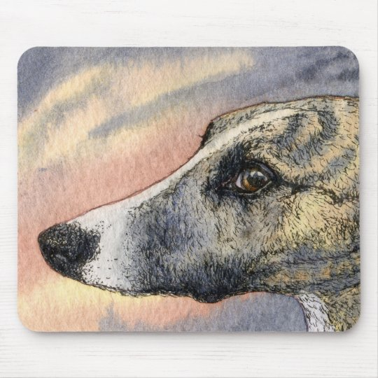 A Shy, Handsome Hound MOUSE MAT
