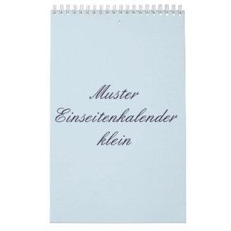 A sides calendars small (Switzerland)