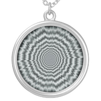 A Sight for Sore Eyes in Monochrome Necklace