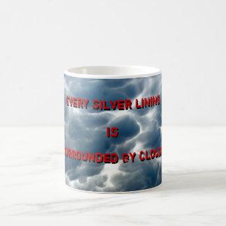A Silver Lining Basic White Mug
